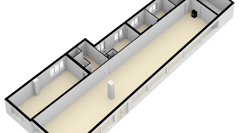 Hovenstraat 47 Landgraaf - Begane grond 3D