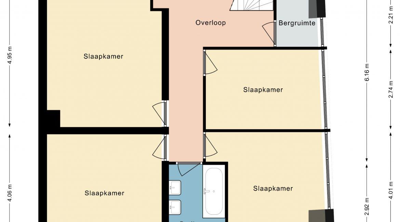 Hovenstraat 47 Landgraaf - Verdieping 2D