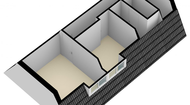 Hovenstraat 47 Landgraaf - Zolder 3D